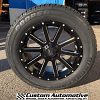 20x9 XD Heist 818 black and milled wheel - 275/55r20 Cooper Discoverer HT Plus tire