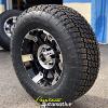 17x9 XD Spy 797 Black wheel - 285/70r17 Nitto Terra Grappler G2 tire