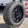 20x9 Ultra Hunter 203 black wheel - 275/60r20 BFGoodrich KO2 All Terrain tire