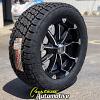 20x9 XD Badlands black wheel - lt285/55r20 Nitto Terra Grappler G2