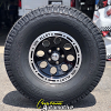 15x8 Ion Alloy 174 black wheel - 33x12.50r15 Wild Country XTX Sport tire