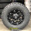 17x9 Fuel Hostage D531 black wheel - LT305/65r17 BFGoodrich KO2 All Terrain tire