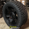 20x9 XD Rockstar 2 Black wheel - 285/50r20 Nitto Ridge Grappler tire