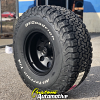 15x10 American Racing 172B Black wheel - 33x12.50r15 BFGoodrich All Terrain KO2 tire