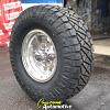 16x8 Ultra 164 Polished wheel - LT285/75r16 Nitto Ridge Grappler tire