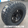 17x9 XD Series Enduro 122 Black - LT285/70r17 Nitto Trail Grappler