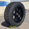 20x9 XD Fusion 832 matte black wheel - 275/60r20 Falken Wildpeak AT3W tire