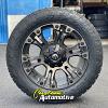 20x9 Fuel Vapor D569 black wheel - 275/55r20 Toyo Open Country AT3 tire