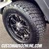 20x9 Fuel Hostage D531 Wheel with LT295/60r20 Nitto Terra Grappler tires