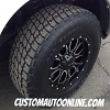 18x9 Helo HE879 Black Wheels - LT295/70r18 Nitto Terra Grappler Tires