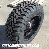 20x10 Fuel Hostage D531 Black Wheel - LT315/60r20 (35x12.50r20) Toyo Open Country MT Tire