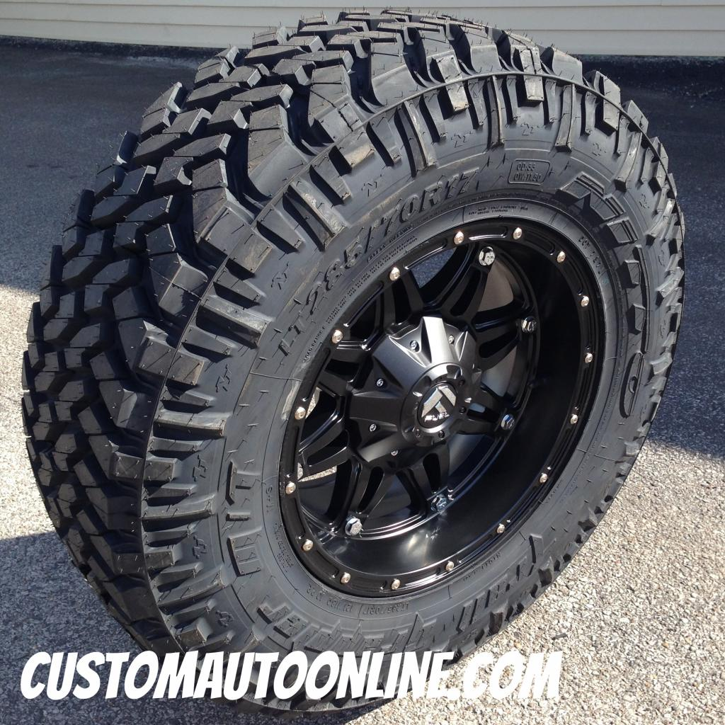 Custom Automotive Packages Off Road Packages 17x9 Fuel