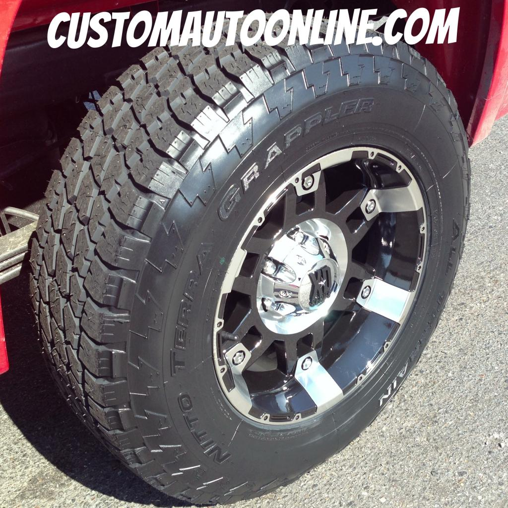 Custom Automotive Packages Off Road Packages 17x9 Xd Spy