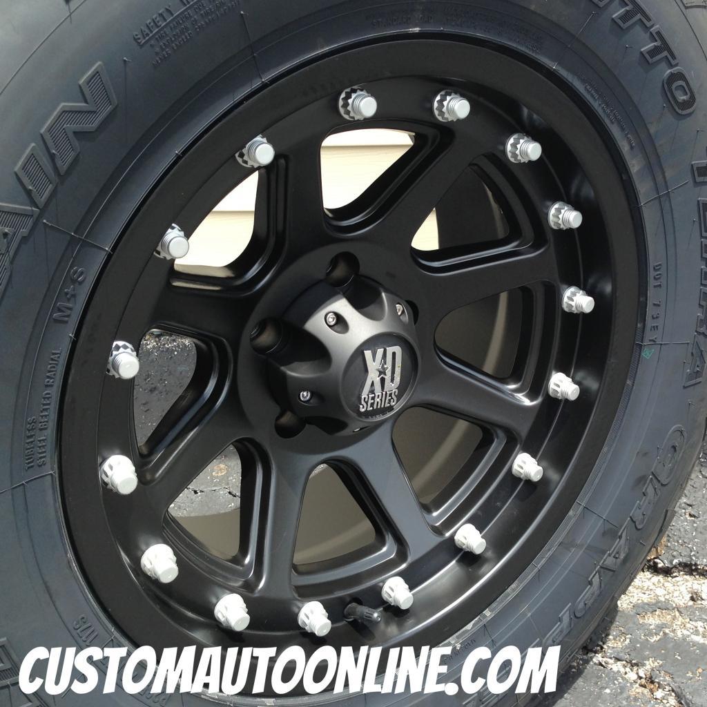 Jeep Wrangler Bolt Pattern >> Custom Automotive