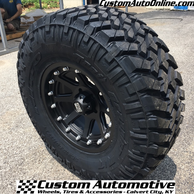 Nitto Grappler Mt >> Custom Automotive Packages Off Road Packages 17x9 Xd Addict