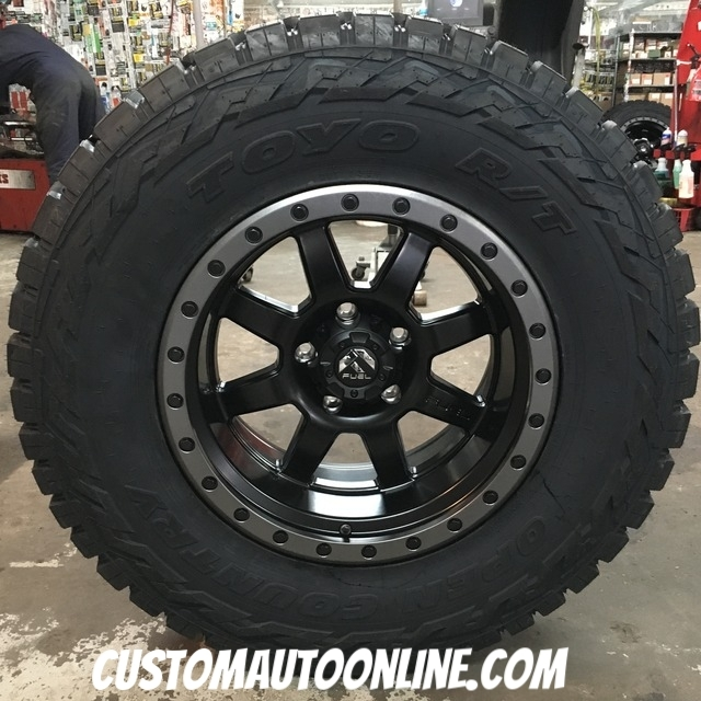 Fuel Trophy Wheels >> Custom Automotive Packages Off Road Packages 18x10