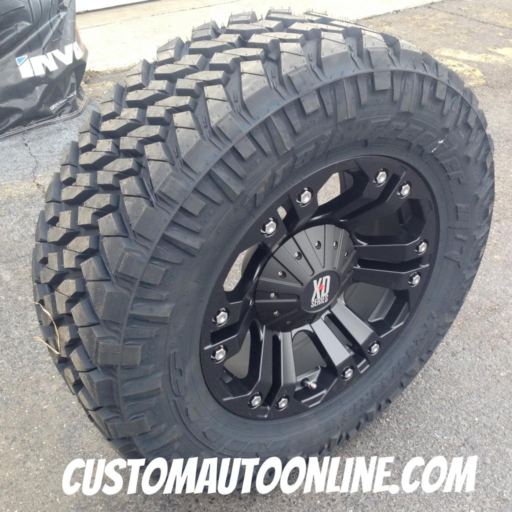 Custom Automotive Packages Off Road Packages 18x9 Xd