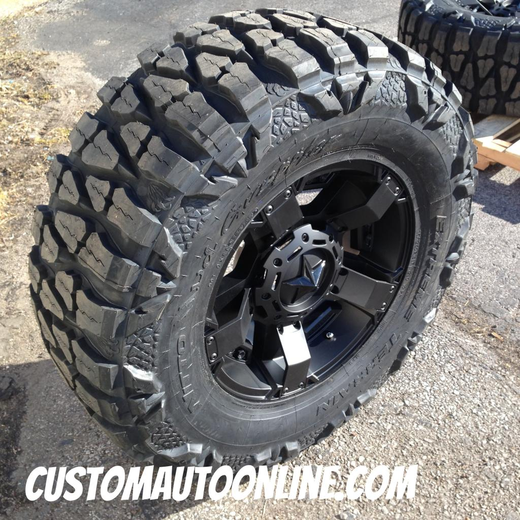 Nitto Off Road Tires >> Custom Automotive Packages Off Road Packages 18x9