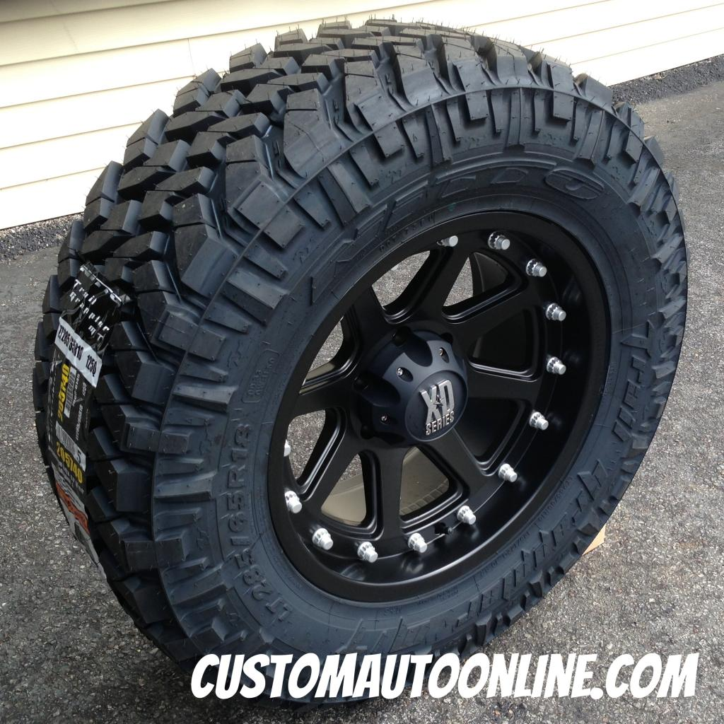 Nitto Terra Grappler Mt >> Custom Automotive Packages Off Road Packages 18x9 Kmc Xd
