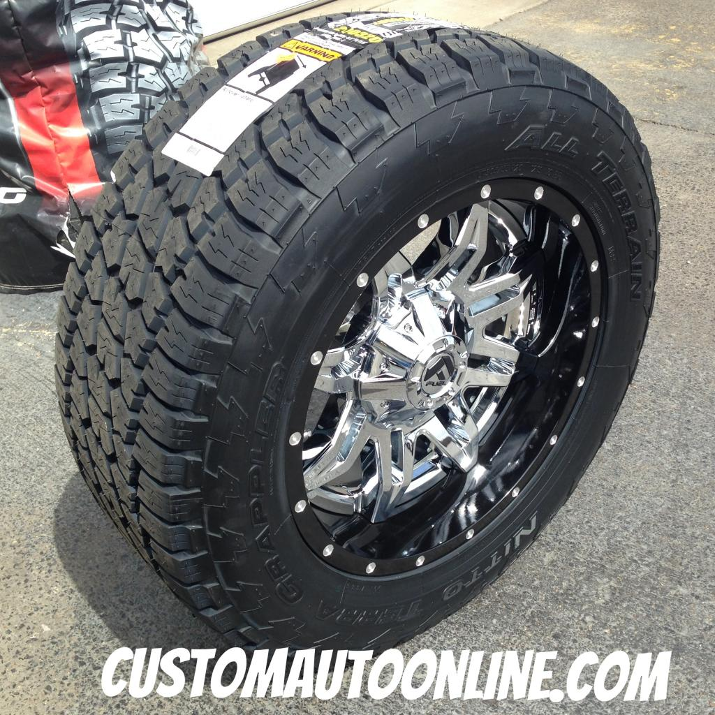 Custom Automotive Packages Off Road Packages 20x10 Fuel
