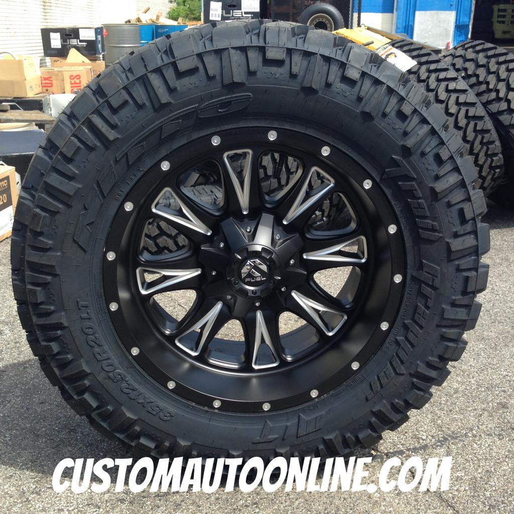 33 12 50 20 >> Custom Automotive Packages Off Road Packages 20x10 Fuel