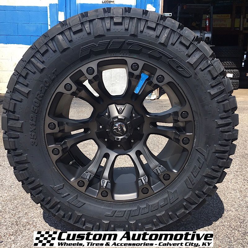 Nitto Terra Grappler Mt >> Custom Automotive Packages Off Road Packages 20x10 Fuel