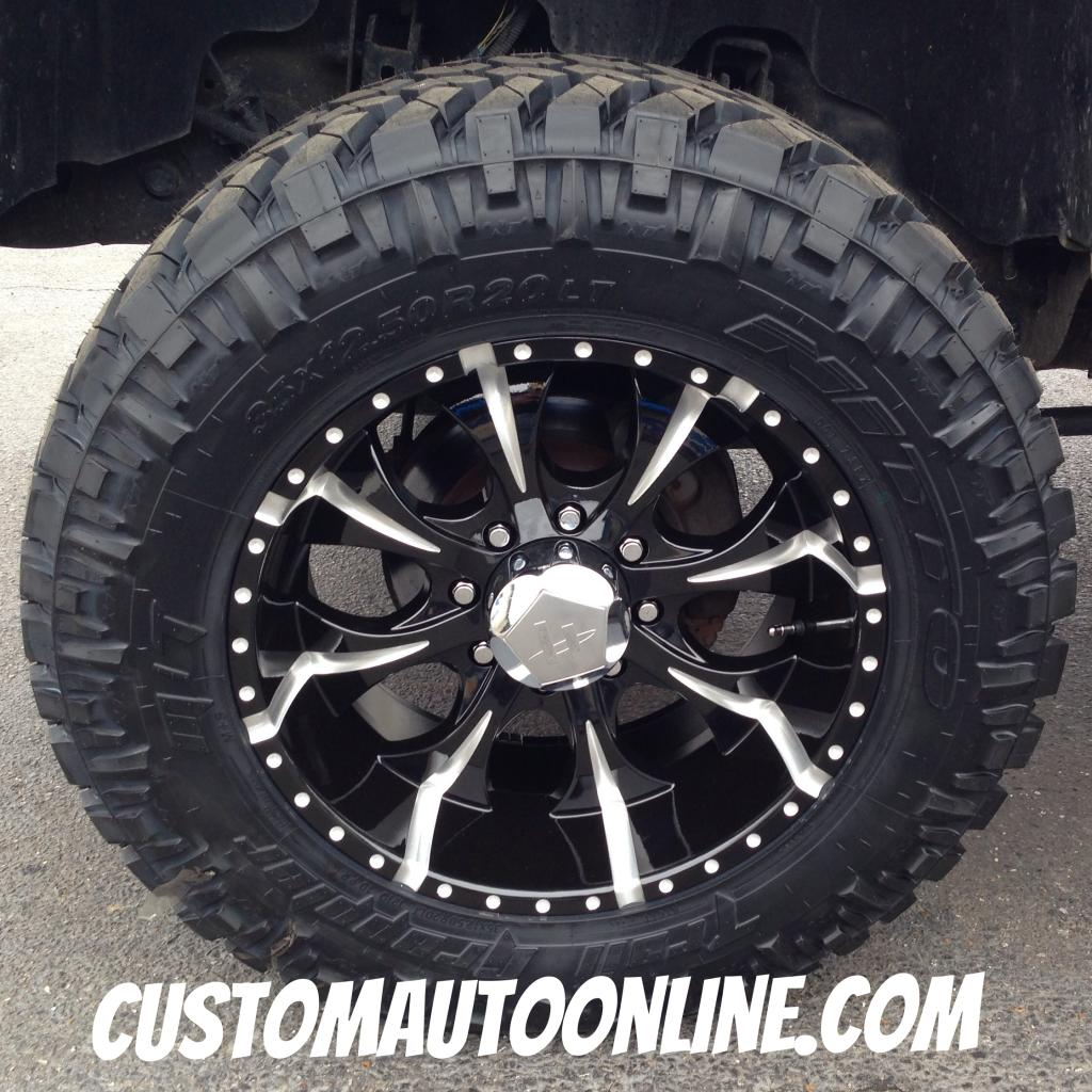 Ford F150 Black Rims Custom Automotive