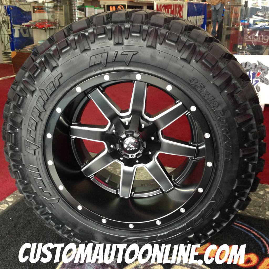 Custom Automotive Packages Off Road Packages 20x12 Fuel