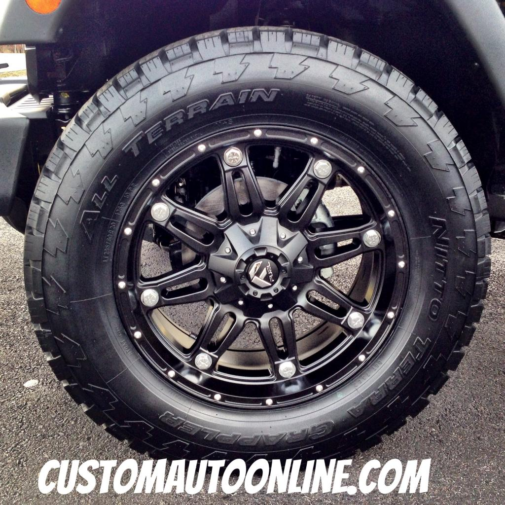 Custom Automotive Packages Off Road Packages 20x9 Fuel
