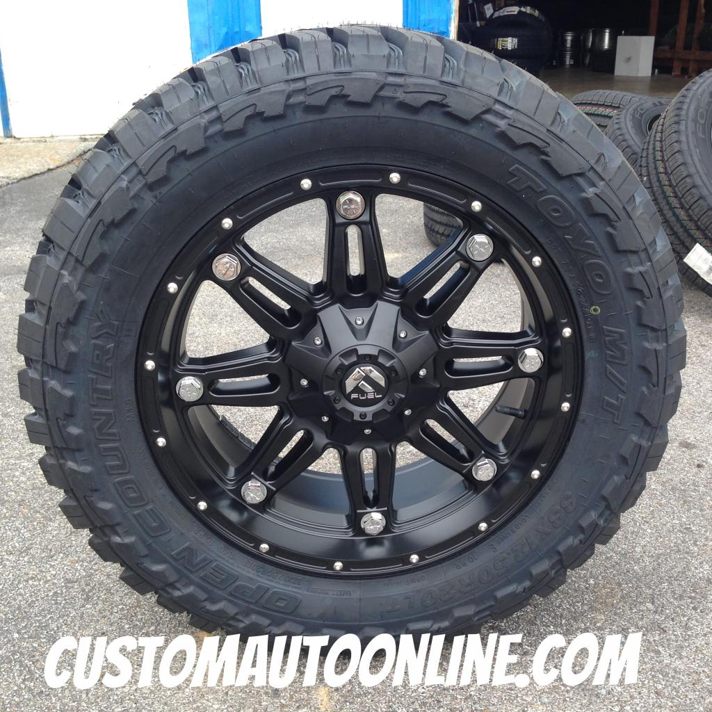 33 12 50 20 >> Custom Automotive Packages Off Road Packages 20x9 Fuel