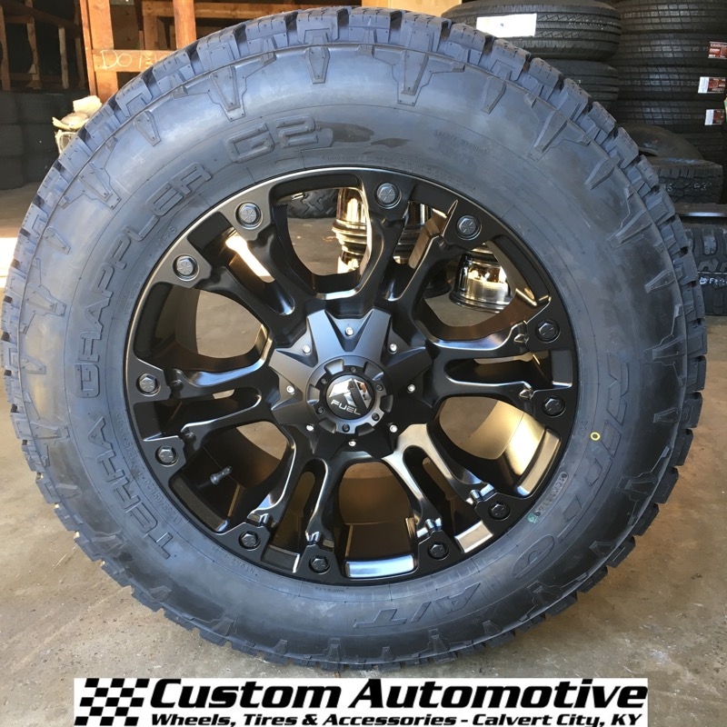 Fuel Wheels 20x9 >> Custom Automotive Packages Off Road Packages 20x9