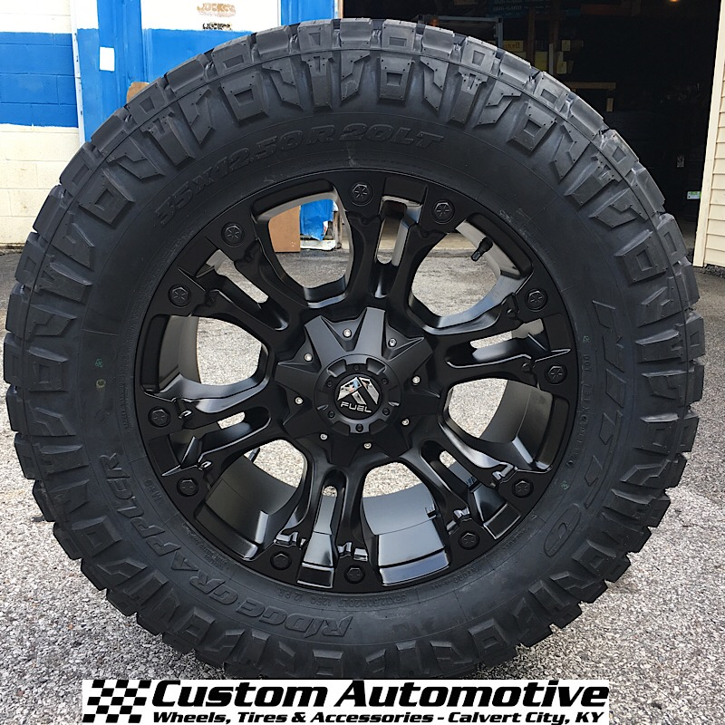 Fuel Wheels 20x9 >> Custom Automotive Packages Off Road Packages 20x9 Fuel