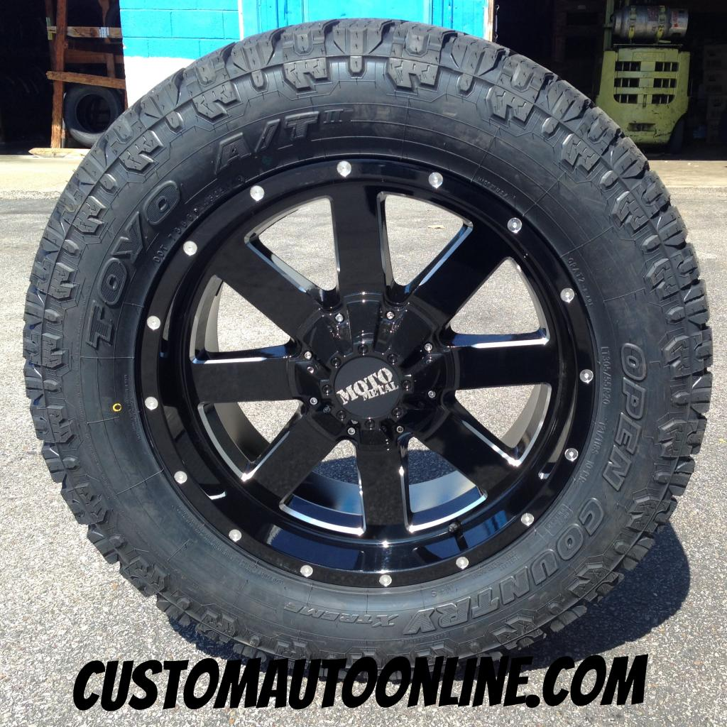305 55r20 In Inches >> Custom Automotive Packages Off Road Packages 20x9