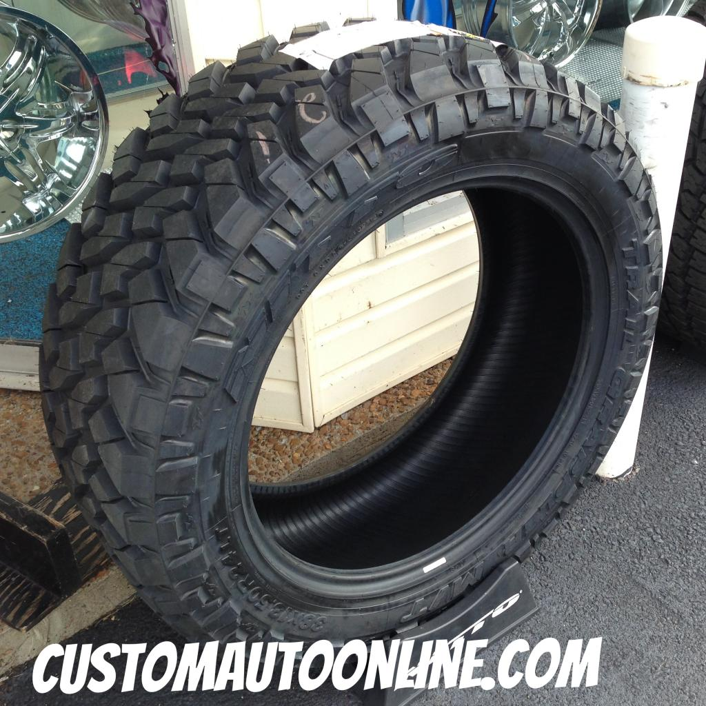 X R Nitto Trail Grappler Chevy on Ford Tpms Sensor