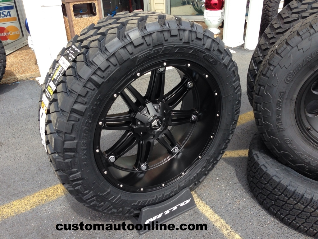 Custom Automotive Packages Off Road Packages 24x11 Fuel