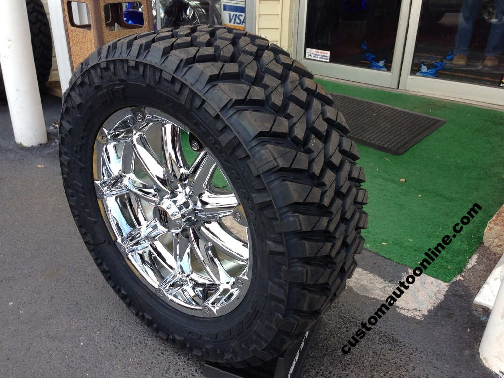 Nitto Terra Grappler Mt >> Custom Automotive