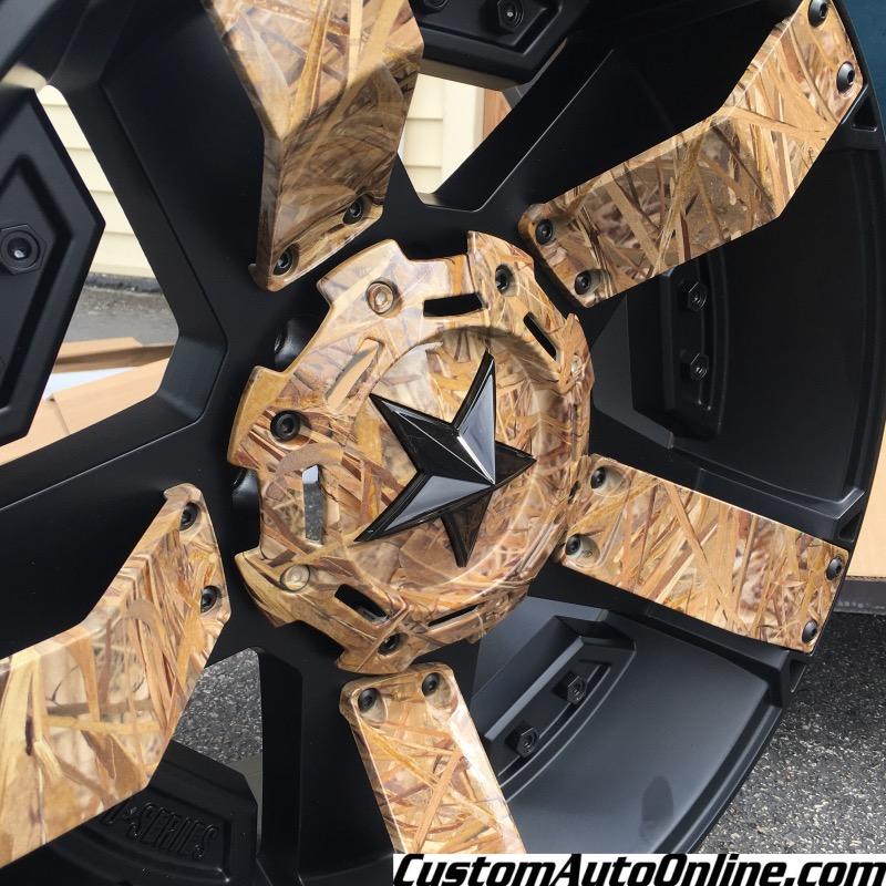 Custom Automotive Wheels Xd Rockstar Ii Rs 2 811 Black With