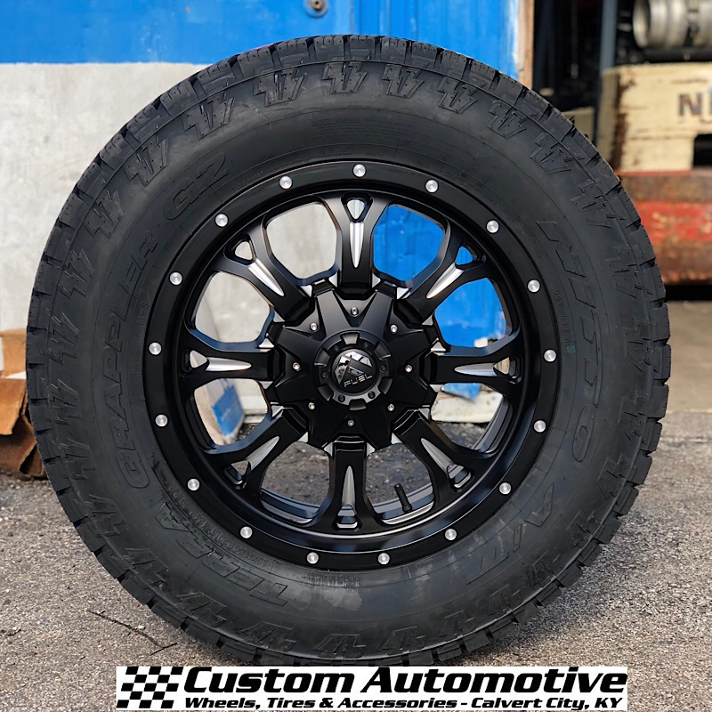 20x9 Fuel Krank D517 Black - 35x11.50r20 Nitto Terra Grappler G2
