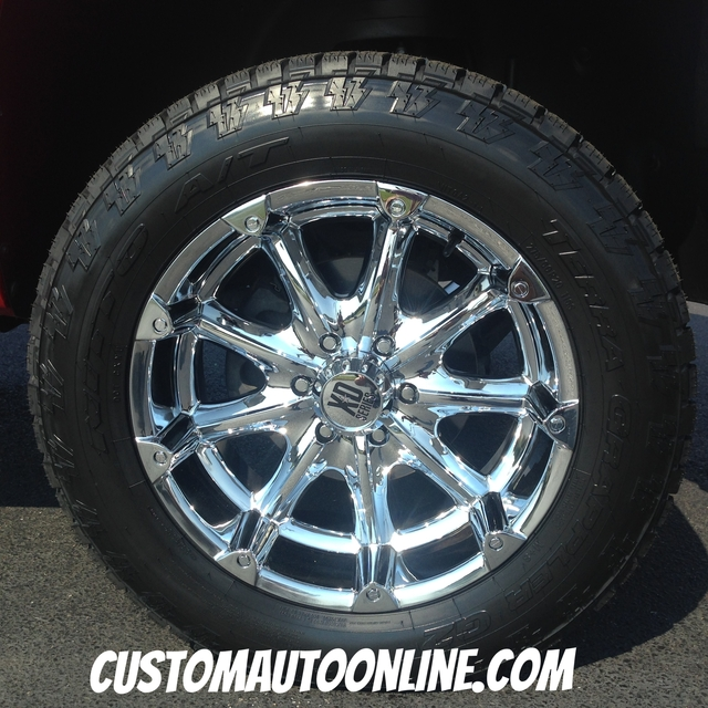 20x9 XD Badlands 779 Chrome - 275/60r20 Nitto Terra Grappler G2