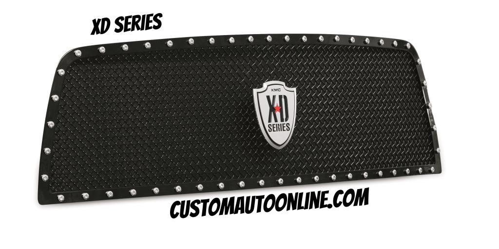 XD Series Grille - 10-12 Ram 2500/3500 Black - 6714511