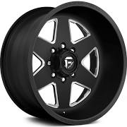 Fuel Forged FF17 - Black and Milled