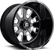 Fuel Forged FF24 - Black and Milled
