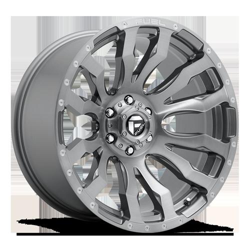 Fuel Blitz D693 - Platinum and Brushed