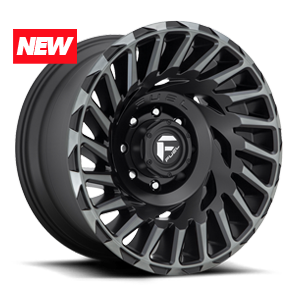 Fuel Cyclone D683 - Matte Black with Dark Tint Machined Face