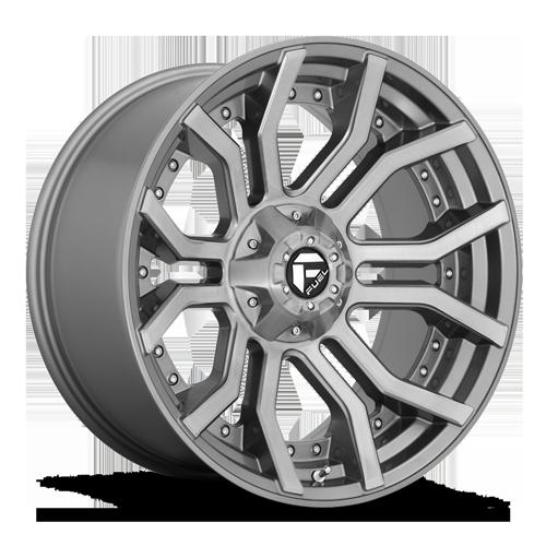 Fuel Rage D713 - Platinum and Brushed