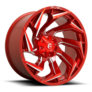 Fuel Reaction D754 - Candy Red and Milled