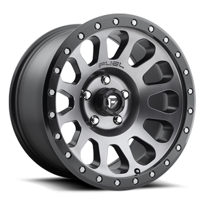Fuel Vector D601 - Matte Anthracite with Black Lip