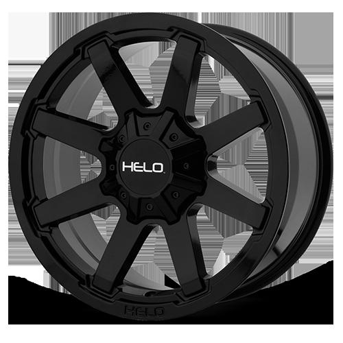 Helo Wheels HE909 - Gloss Black