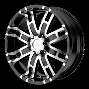 Helo Wheels HE835 - Black