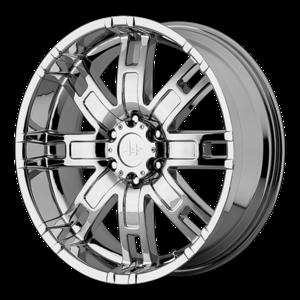 Helo Wheels HE835 - Chrome